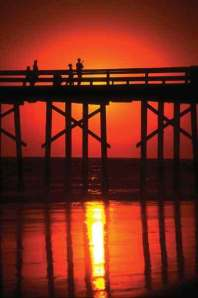 huntington-beach-pier-at-sunset